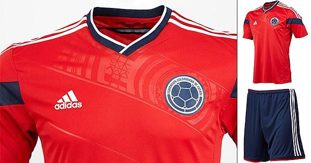 96ad5f1fd6 Presentada la camiseta roja de la Selección Colombia para el Mundial ...