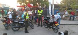 51 motocicletas, 7 motocarros y 4 vehículos inmovilizados el pasado fin de semana