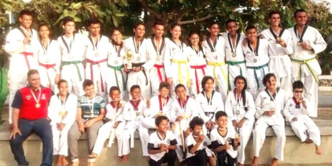 Taekwondistas cienagueros conquistaron 34 medallas en campeonato regional en Barranquilla