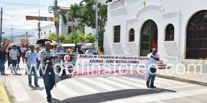 Maestros de Ciénaga, Puebloviejo y Zona Bananera marcharán por la Troncal del Caribe para tomarse la ciudad