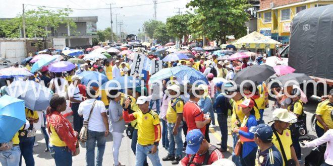Fotos: Copiosa manifestación de docentes de Ciénaga, Zona Bananera y Puebloviejo
