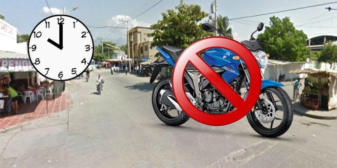 Ahora la restricción de motos los fines de semana será desde las 10:00 p. m.