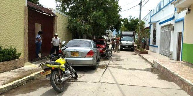 Comerciante resultó herido al oponerse a atraco en la calle 14 con carreras 17 y 18 de Ciénaga