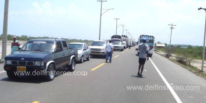 De nuevo sin energía. Habitantes de Tasajera bloquearon la vía Troncal del Caribe