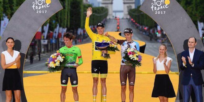 """""""Cualquier ciclista sueña con estar en el podio del Tour de Francia"""": Urán"""