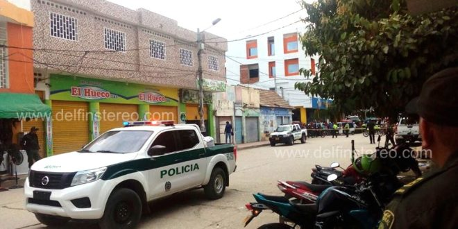 Alarma por supuesto artefacto explosivo en zona comercial de Ciénaga