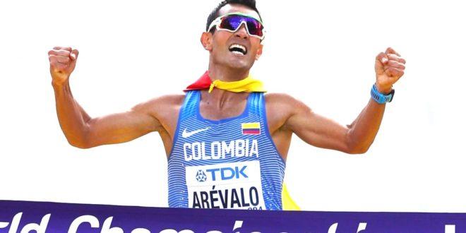 El colombiano Eider Arévalo se consagró campeón mundial de marcha 20 kilómetros