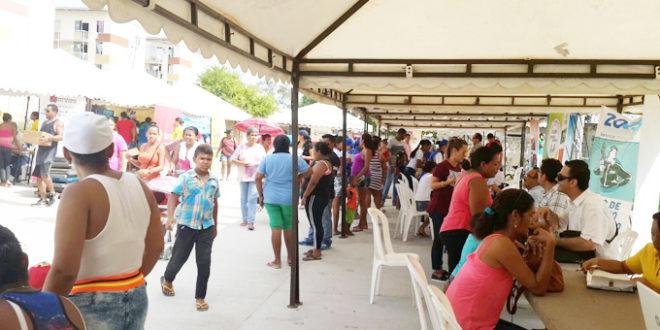 Más de 15 entidades presentes en Feria de Servicios en Puebloviejo, Magdalena