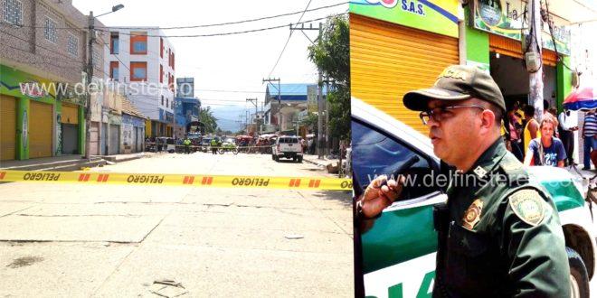 """""""Descartamos cualquier artefacto explosivo en zona comercial de Ciénaga"""", mayor Varela"""