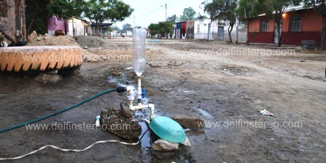 Agua salobre para el consumo le llega a los habitantes del barrio Elisa Celedón de Ciénaga