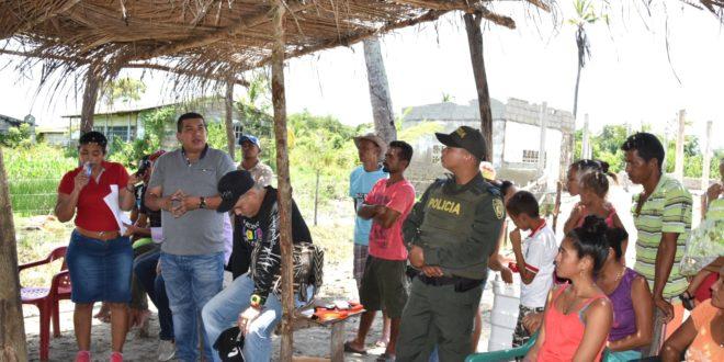 Puebloviejo: Alcalde y concejales se reunieron con comunidad de Bocas de Aracataca
