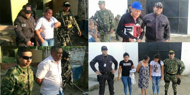 """Ejército y CTI desarticulan la banda delincuencial """"Los Zungos"""""""