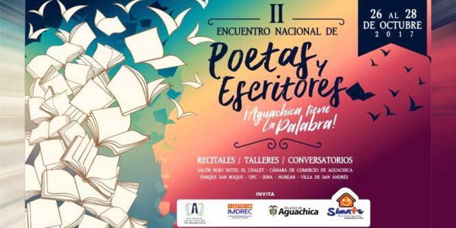 Hoy inicia el segundo Encuentro Nacional de Poetas y Escritores en Aguachica (Cesar)