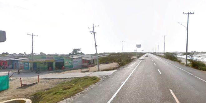 Hombre murió arrollado por una motocicleta en la Troncal del Caribe