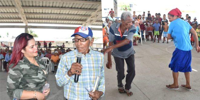 En Puebloviejo, se desarrolló jornada de integración y recreación a adultos mayores