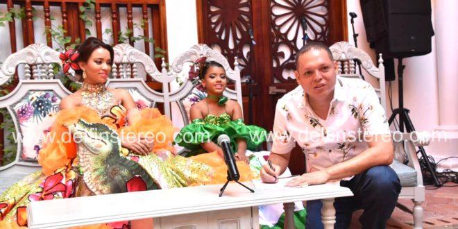 Presentación oficial de las reinas central e infantil del Caimán Cienaguero
