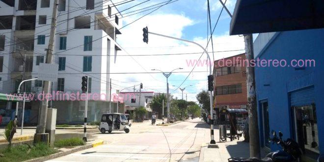 Más de 72 horas sin servicio de semáforos en la calle 17 con carrera 21