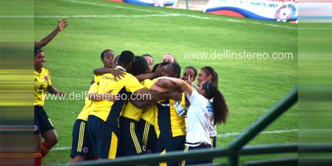 Colombia goleó 5X0 a Bolivia en fútbol femenino de los Juegos Bolivarianos