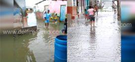 Ciénaga Grande aumenta su nivel e inunda el corregimiento de Palmira en Puebloviejo