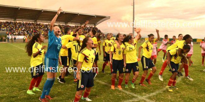 En Fotos: Selección femenina de fútbol conquistó la presea de Oro en los Juegos Bolivarianos