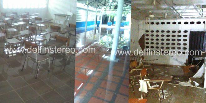 Suspendidas las clases en Ciénaga por lluvias caídas en las últimas horas