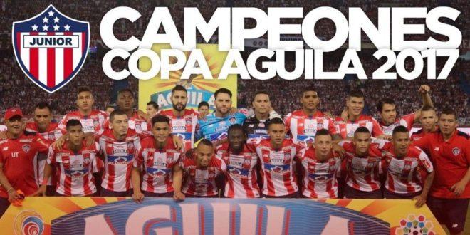 Junior Campeón de la Copa Aguila 2017