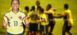 """""""Soñamos con el Oro"""", dijo la valduparense Maireth Pérez de la selección Colombia femenina"""