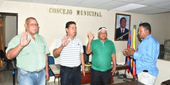 Concejo de Puebloviejo eligió mesa directiva en inicio de sesiones ordinarias