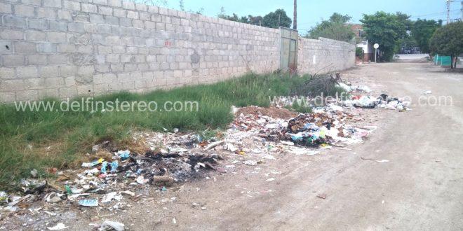 Alrededores de la antigua Caseta México convertidos en basurero a cielo abierto