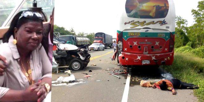 Murió en accidente de tránsito la profesional de la medicina Tiburcia Pacheco