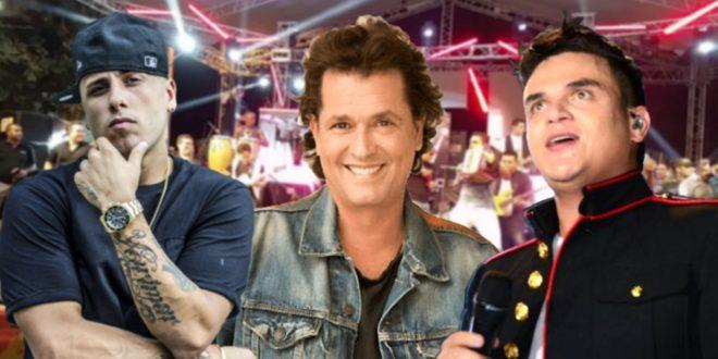 Carlos Vives, Nicky Jam y Silvestre Dangond cerrarán las fiestas del Caimán cienaguero