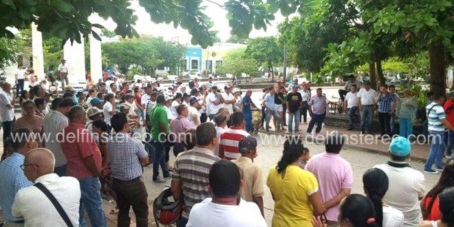 Cienagueros protestaron por alto índice de inseguridad