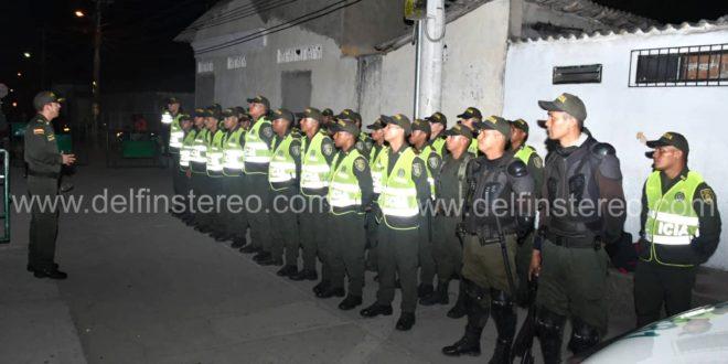 Llegaron nuevos refuerzos de la Policía. Serán 80 unidades en las calles de Ciénaga