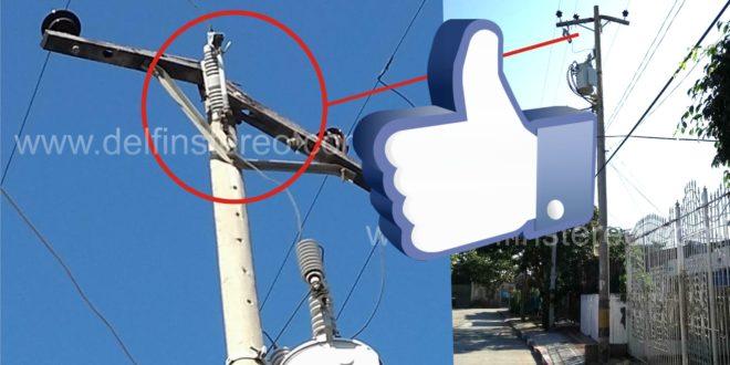 Electricaribe programará atención al problema denunciado por habitantes del barrio Manzanares