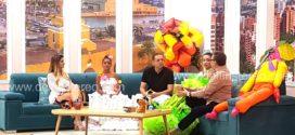 En Telecaribe, alcalde y reinas invitaron al Festival Nacional del Caimán Cienaguero