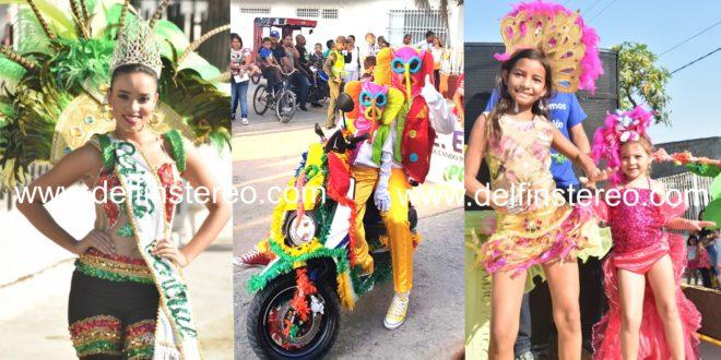 Carnavalito estudiantil: un derroche de colores y alegría