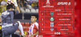 Junior ingresa a la fase de grupos de la Copa Libertadores 2018