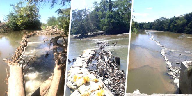 Continúa la captación ilegal de agua en el río Aracataca