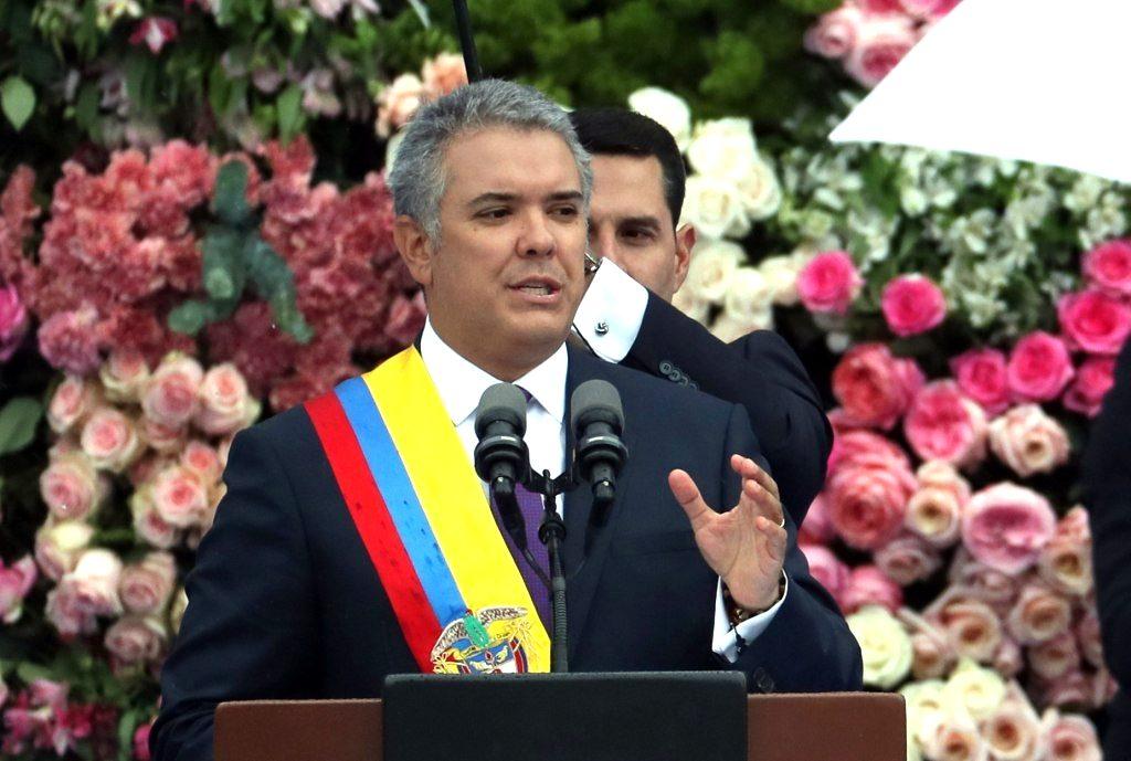 Iván Duque Márquez tomó posesión como Presidente de la República |  delfinstereo.com